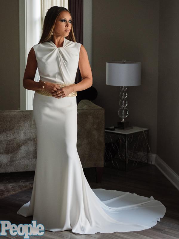 Vanessa Williams Wedding Gown Quot I Felt Like An Egyptian