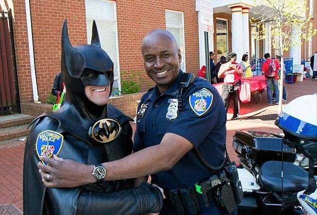 Lenny B Robinson-Batman-cop