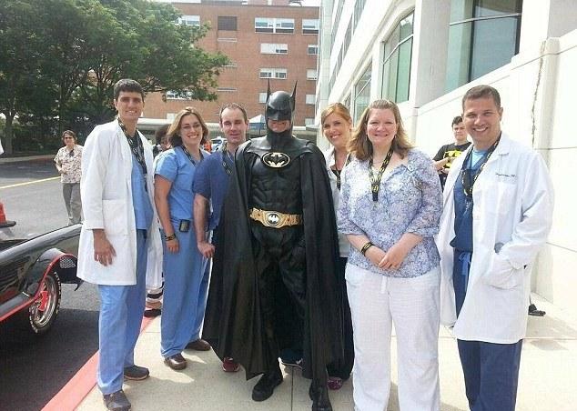 Lenny B Robinson-Batman-medical staff