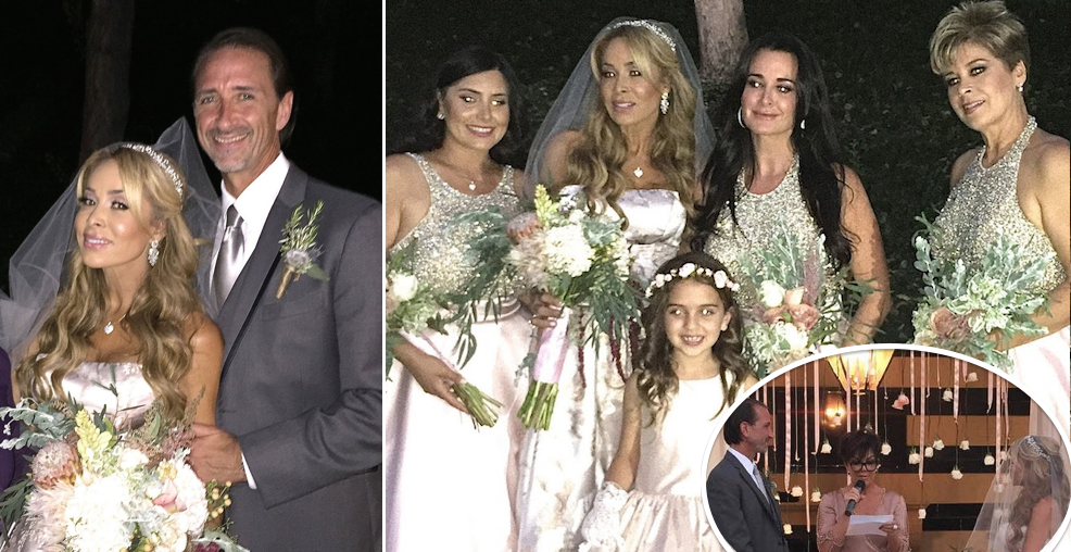[PHOTOS] Kyle Richards Is Bridesmaid For Faye Resnick's Wedding To Everett Jack; Kris Jenner ...