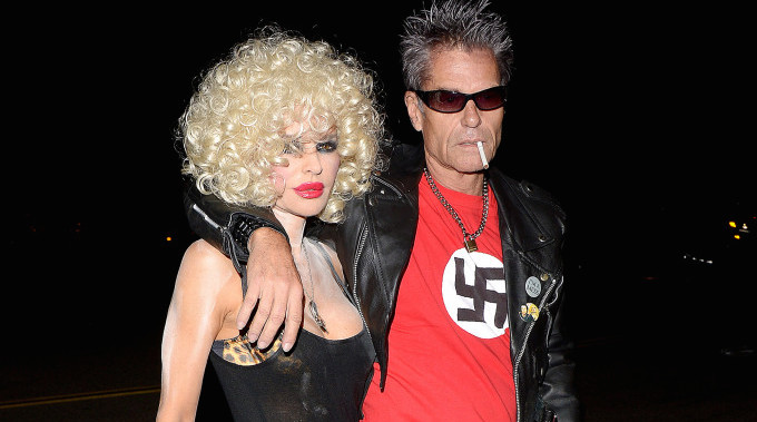 Harry Hamlin Steps Out In Nazi T-shirt As Sid Vicious