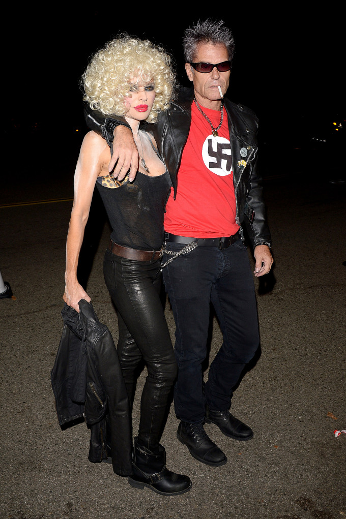 Harry Hamlin Steps Out In Nazi T Shirt As Sid Vicious