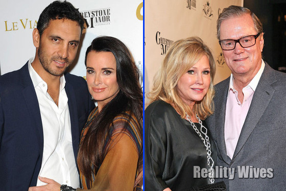 The real housewives of beverly hills kyle richards and her husband