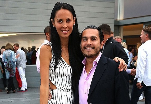Jules & Michael Wainstein during happier times