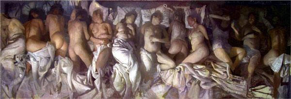 "Vincent Desiderio  ""Sleep"""