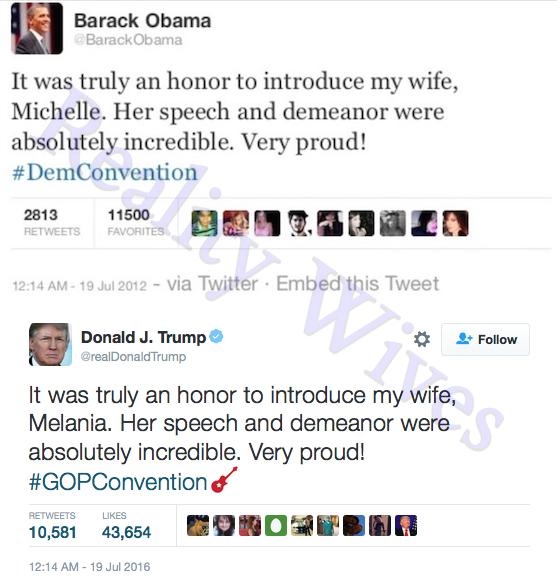 Barack Obama-Donald Trump-tweets