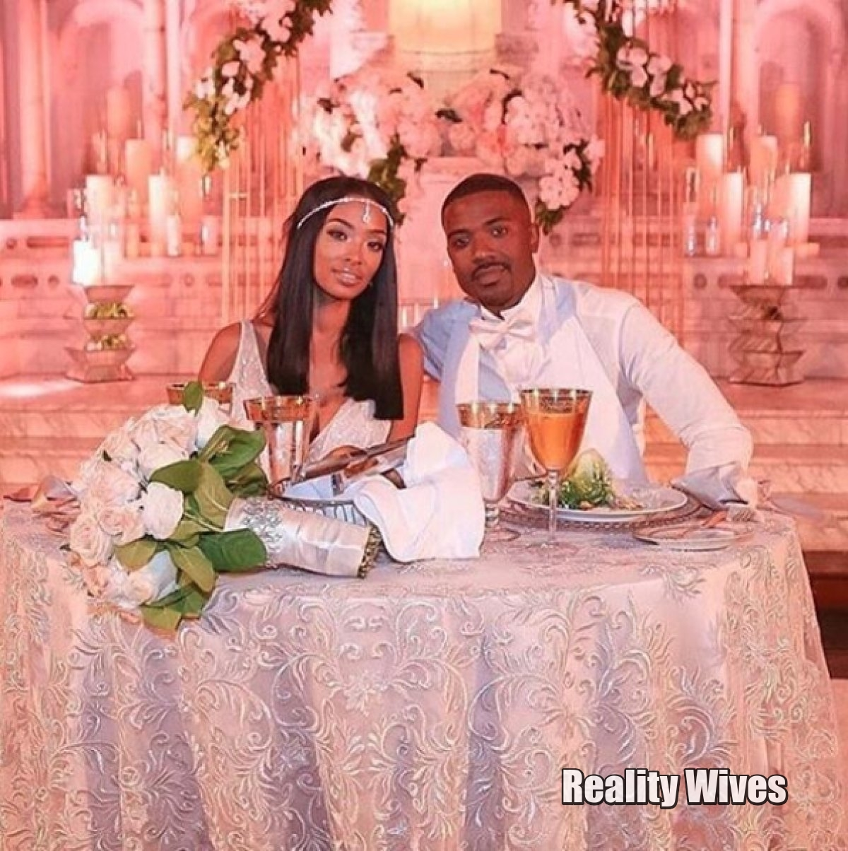 PHOTOS Ray J Amp Princess Love Are Married