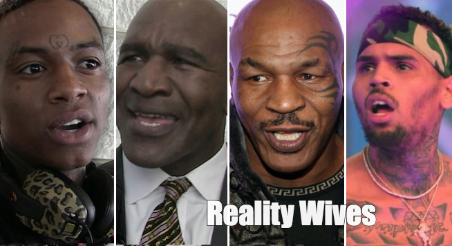 Soulja Boy-Evander Holyfield-Mike Tyson-Chris Brown