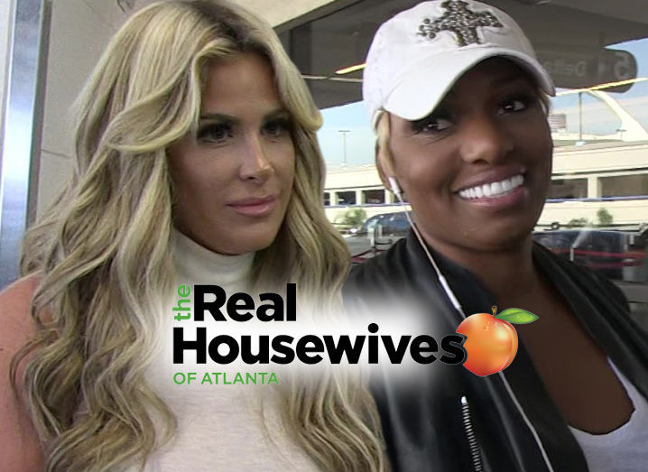 Kim Zolciak-Nene Leakes