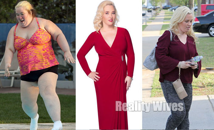 A 'Skinny' Size 4 Mama June Shannon Is Finally Revealed!