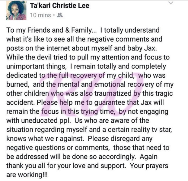 Takari Lee Book Lights To A Shadow Awesome Jackie Christie's Says 60Month Old Grandson's Burning Accident Was