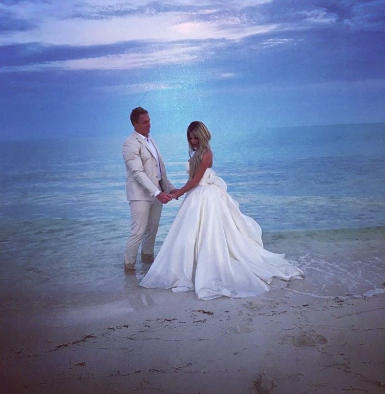 Dresses For Vow Renewal Ceremony: Kroy Biermann & Kim Zolciak Biermann Renew Their Wedding Wows