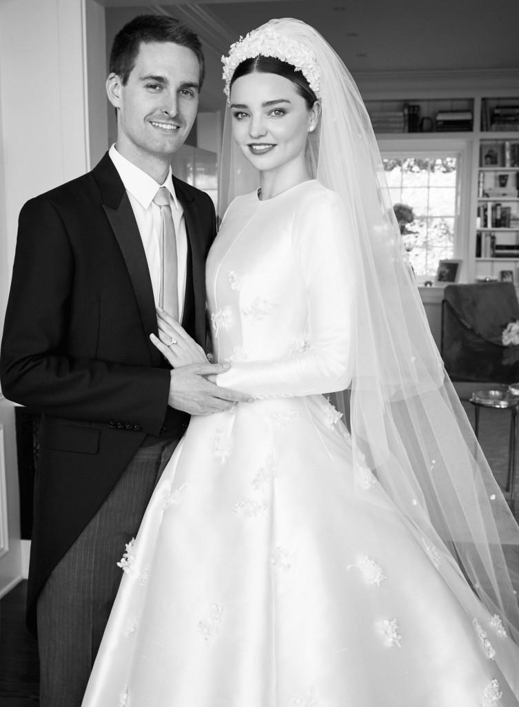 Inside Miranda Kerr's Wedding To Snapchat CEO Evan Spiegel