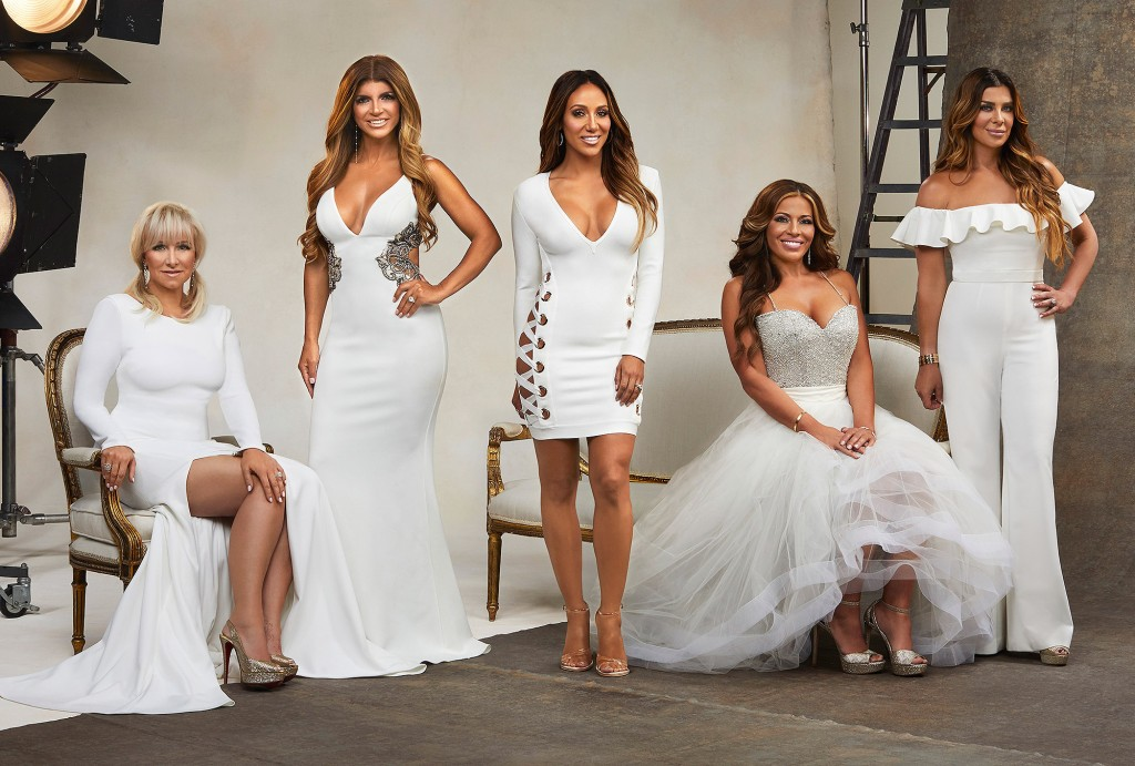 RHONJ Season 8: Margaret Josephs, Teresa Giudice, Melissa Gorga, Dolores Catania & Siggy Flicker [Photo by: Rodolfo]