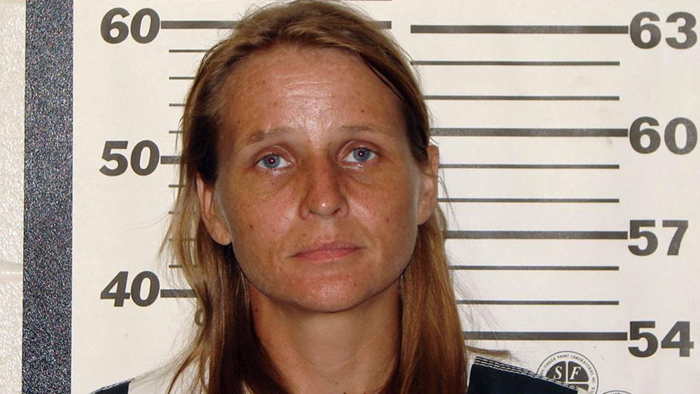 This photo provided by the Ozark County, Missouri, sheriff's office shows Rebecca Ruud, charged, Tuesday, Aug. 22, 2017, with murder in the death of her 16-year-old biological daughter, whose remains were found in a burn pit on their rural property.