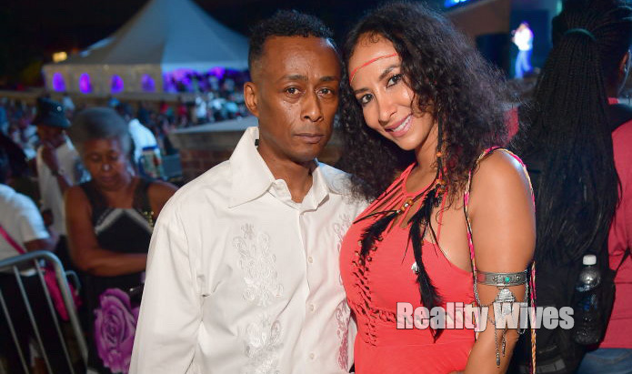 Professor Griff & Sole attend the 2017 Atlanta funk Fest at Wolf Creek Amphitheater on May 19, 2017 in Atlanta, Georgia.  (Photo by Prince Williams/WireImage)