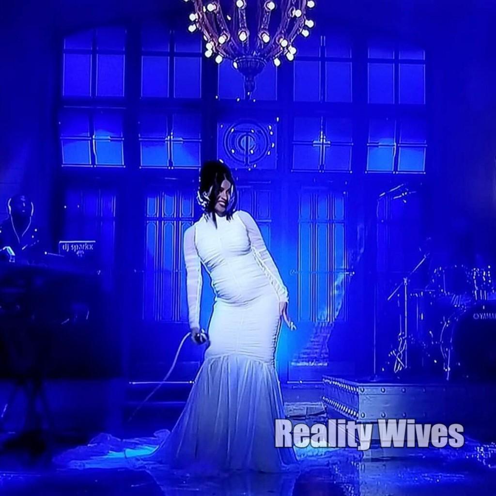 Cardi B-pregnant