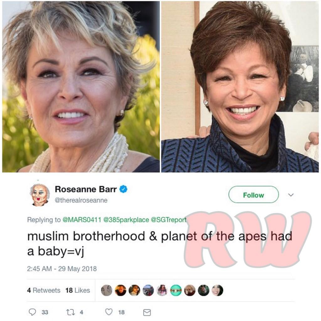 Roseanne Barr-Valerie Jarrett