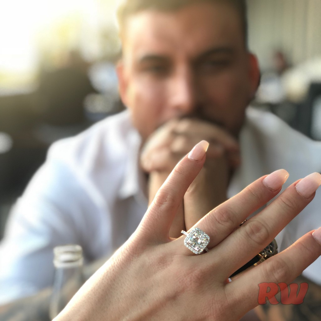 Brittany Cartwright-Jax Taylor Engaged