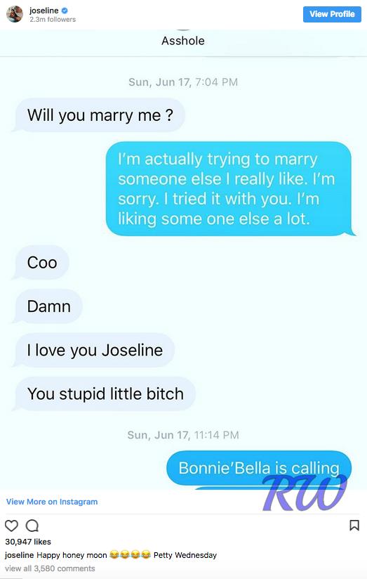 Joseline Hernandez-Stevie J-text messages