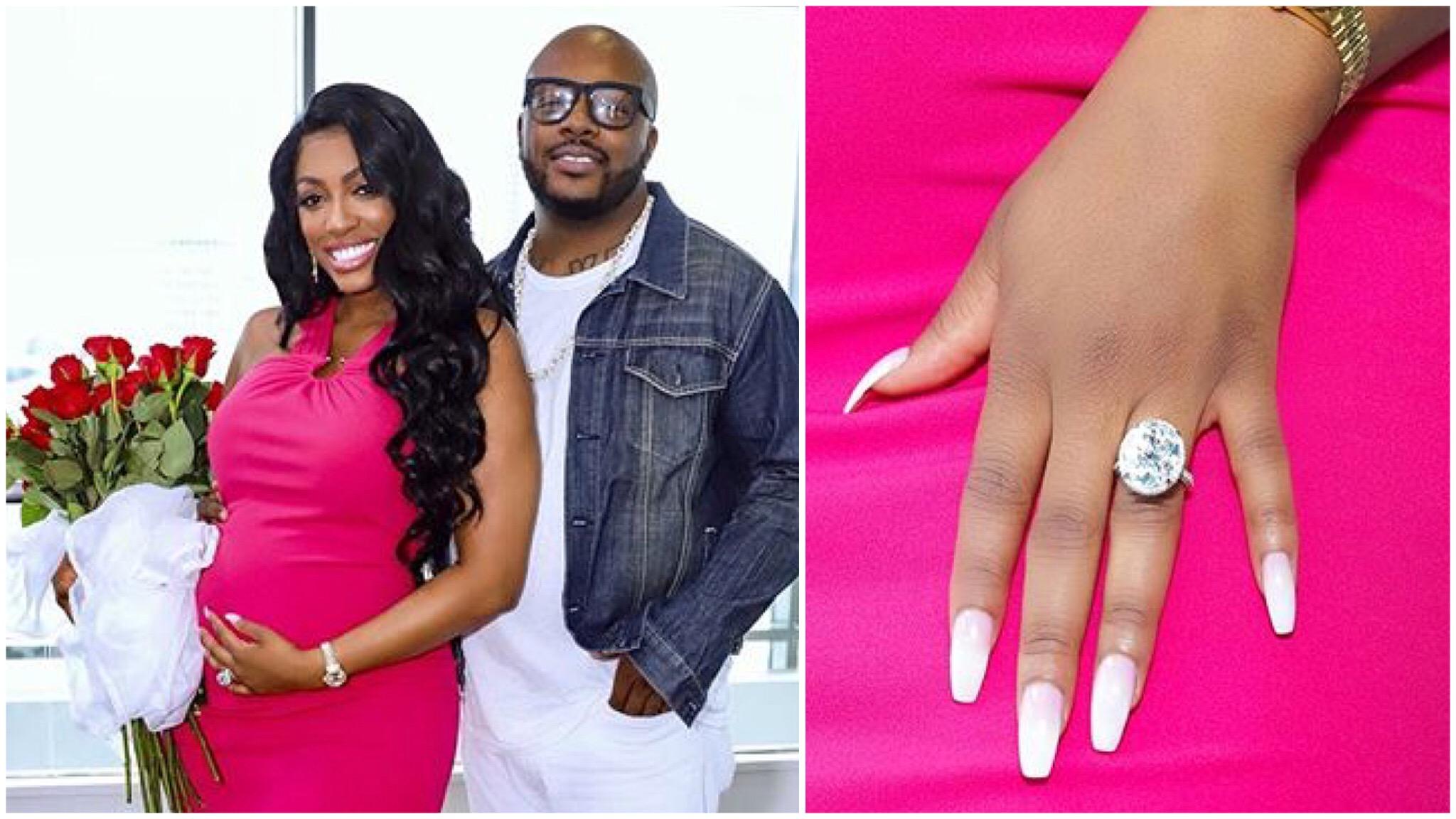 Pregnant Porsha Williams Is Engaged To Boyfriend Dennis McKinley