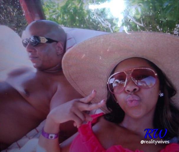 Kevin Hunter & Sharina Hudson on vacation