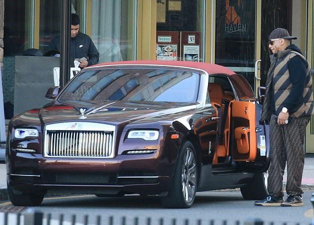 Kevin Hunter-Rolls Royce