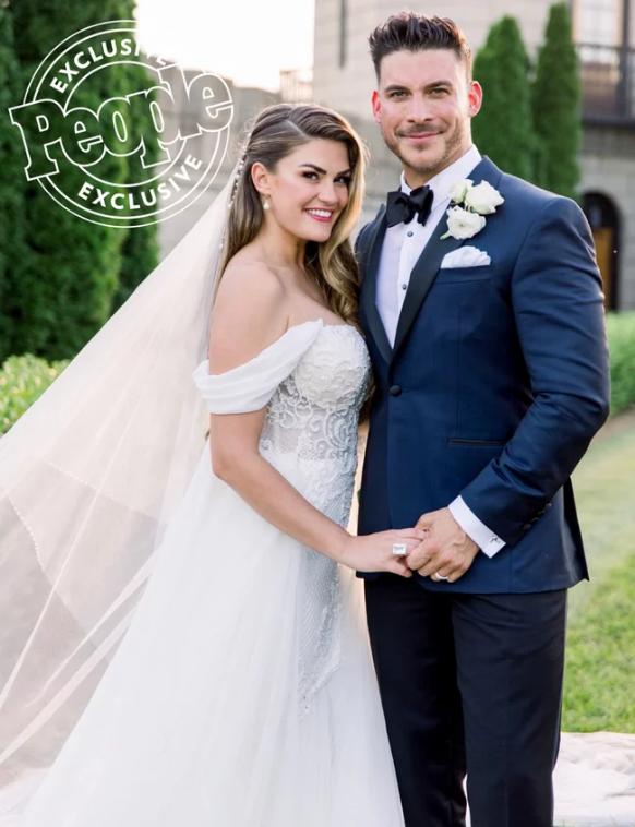 Brittany Cartwright-Jax Taylor-wedding-2