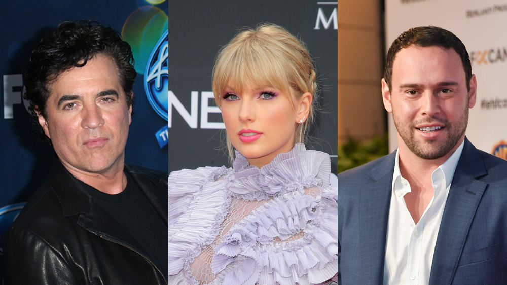 Scott Borchetta, Taylor Swift & Scooter Braun