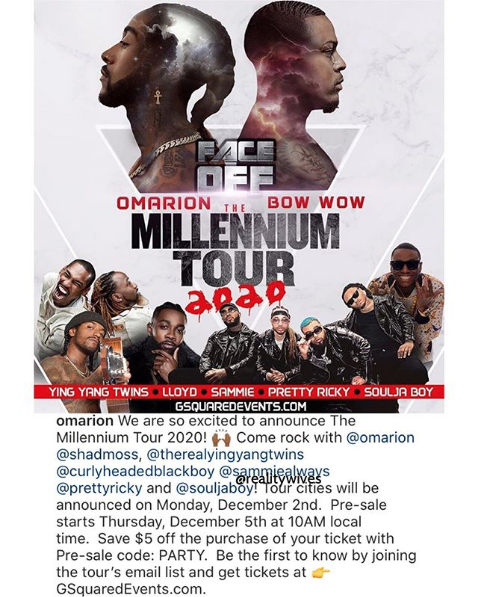 2020 Millennium Tour
