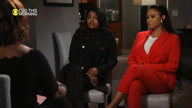 R Kelly's 'girlfriends' Azriel Clary & Joycelyn Savage on CBS This Morning with Gayle King