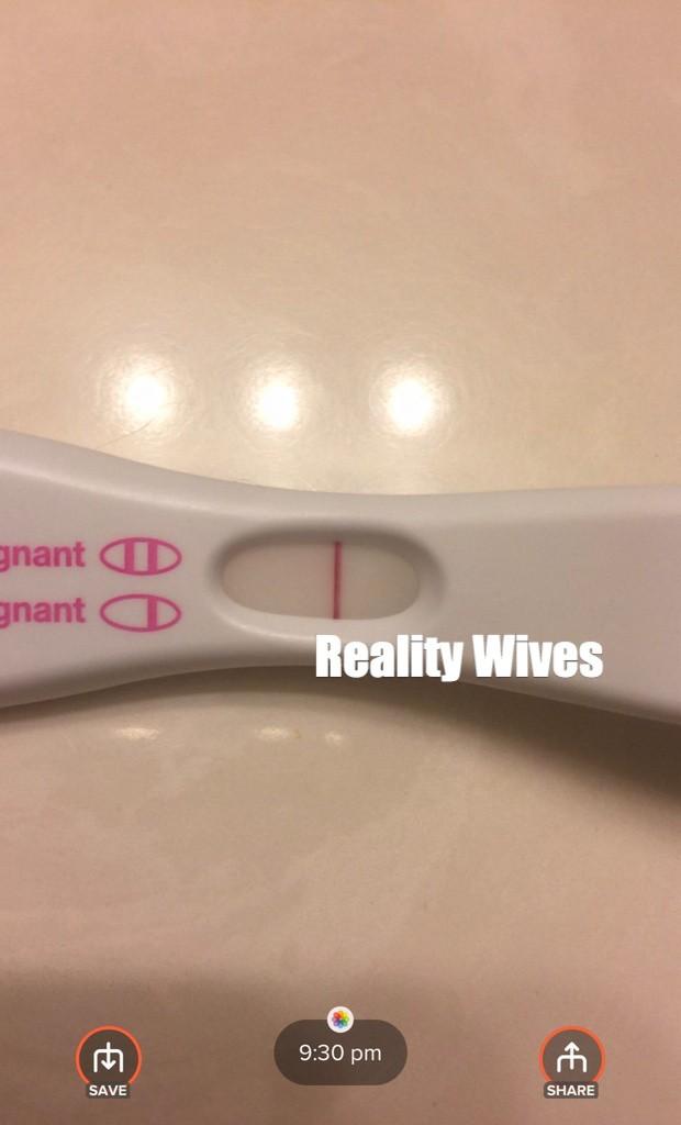 Joycelyn Savage-pregnancy test