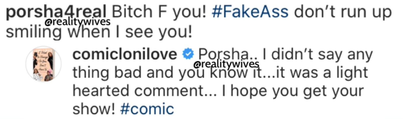 Porsha Williams-Loni Love