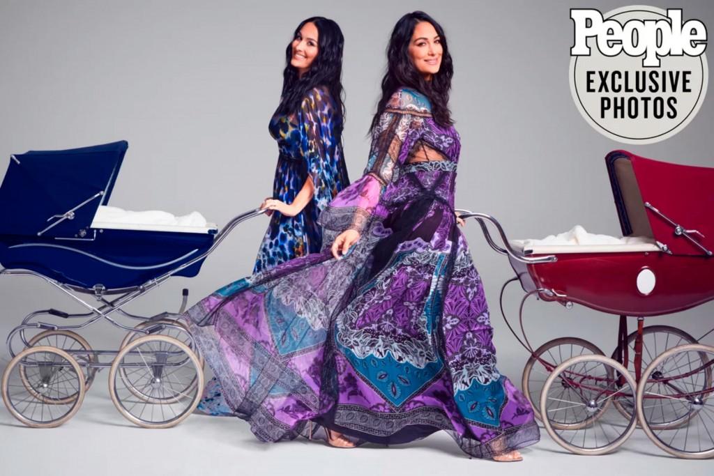 Nikki-Brie Bella-pregnant-1