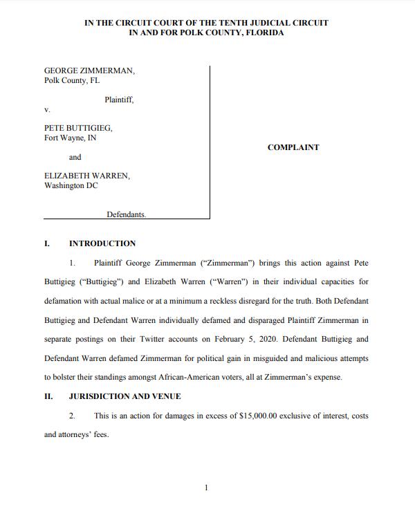 George Zimmerman-lawsuit