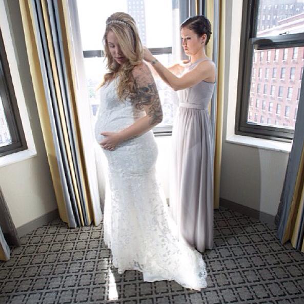 kailyn lowry wedding pic