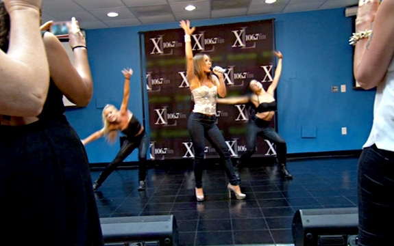 melissa gorga performing
