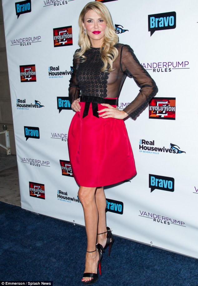 Brandi Glanville-RHOBH 4 Party