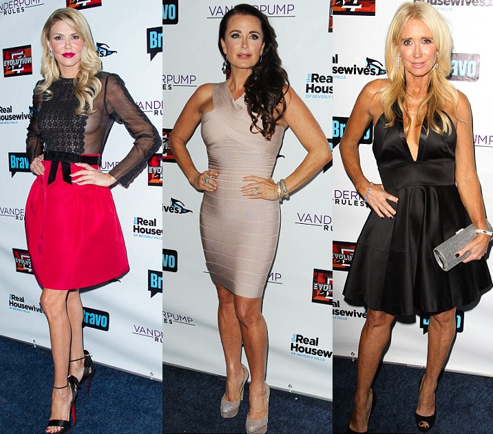 Brandi-Kyle-Kim-rhobh-party