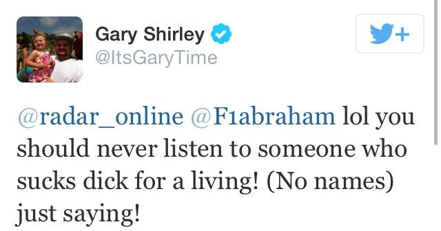 gary shirley farrah abraham