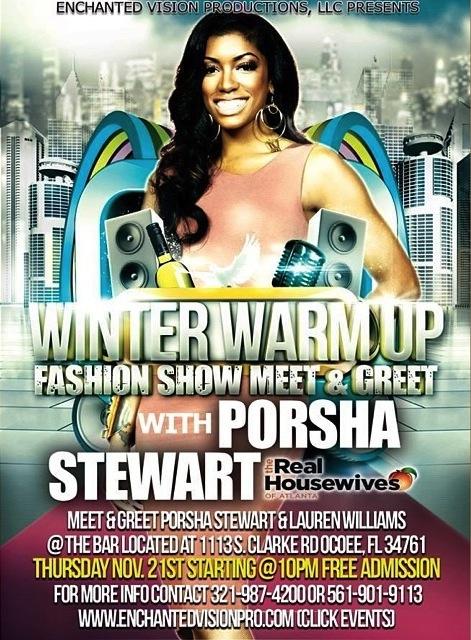 porsha stewart-winter warm up