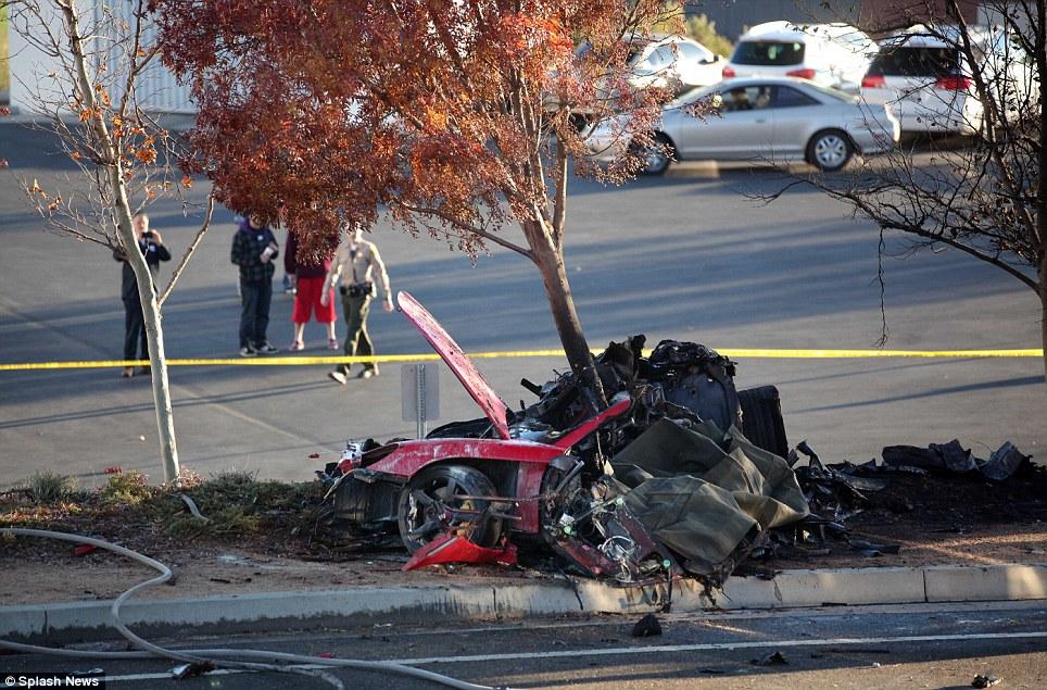 Paul walker crash-vehicle