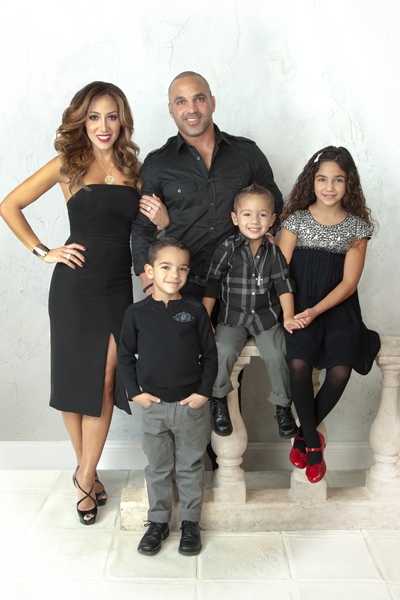 Melissa and Joe Gorga 2013 Christmas card