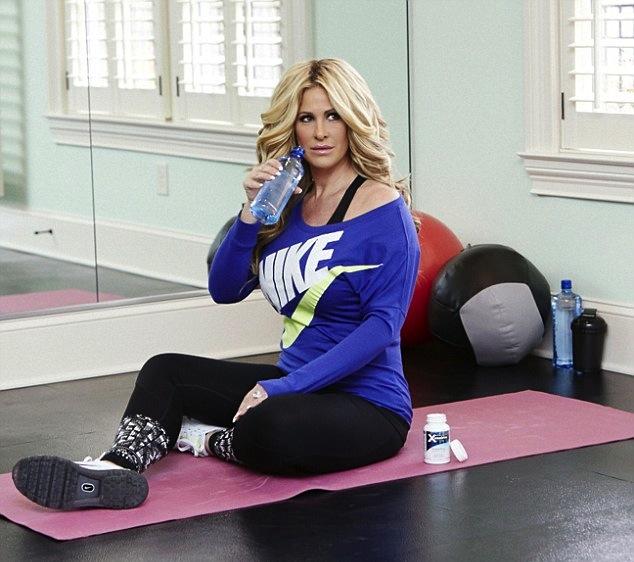 kim zolciak-workout-