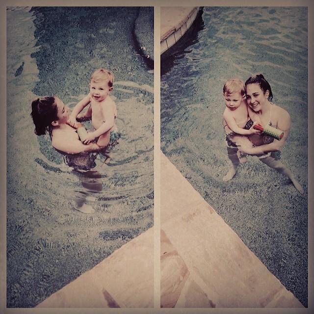 Ariana-Kash Brielle-pool