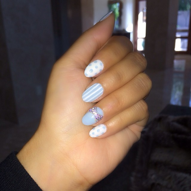 evelyn lozada-nails