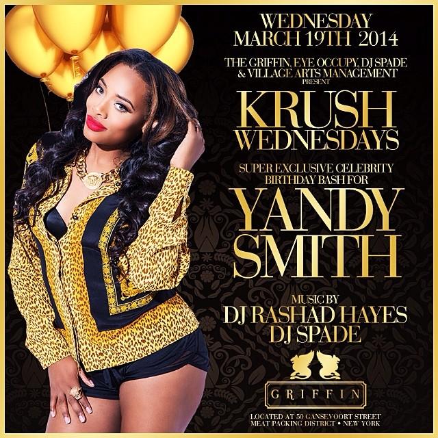 yandy smith birthday-club