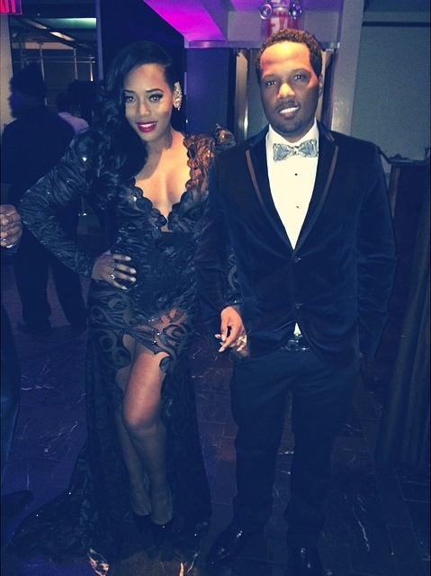 yandy smith-mendeecees harris-party pic