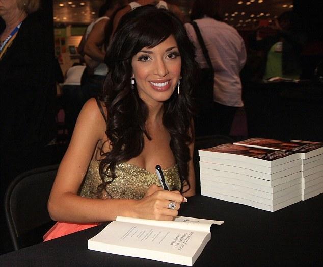 Farrah Abraham-book signing