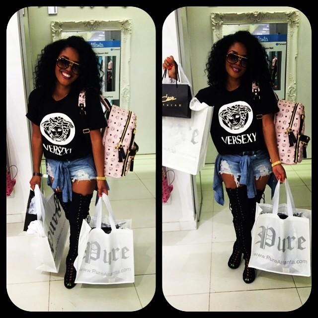 Rasheeda Frost-shopping